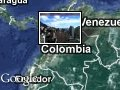 Map Colombia-World